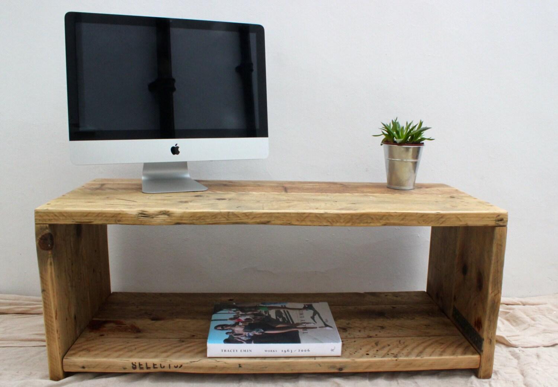 Josephine Reclaimed Wood Tv Stand Handmade Bespoke
