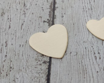 18 Gauge Nu Gold Heart Stamping Blank - 27mm Heart Stamping Blank