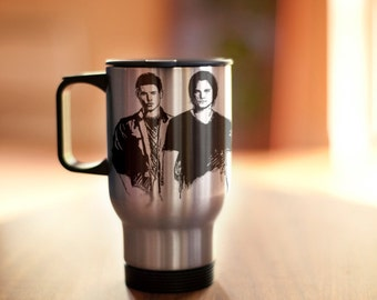Winchester brothers stainles steel mug