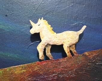 Unicorn _ Panel decorative wall 3d
