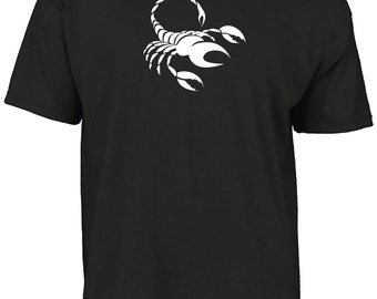 Astrology, zodiac star sign Scorpio symbol t-shirt