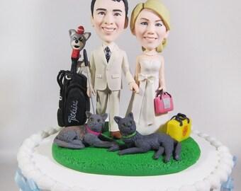 Ireland Police Theme Wedding Cake Topper By Vivantopperstudio