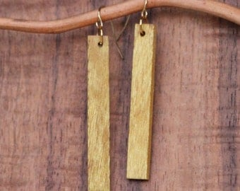 Yellow Earrings,Wood Earrings,Wood Ear Rings,Wood Earings,Jewelry,Earrings,Womens Jewellery,Fashion Jewellery,Earings,Stud Earring,Earring