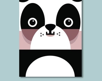 Panda Children's Art Print