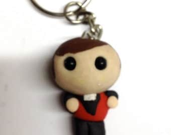Lil Father Dougal Keyring