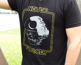 Star Wars Men's T-Shirt | Never Forget the Death Star