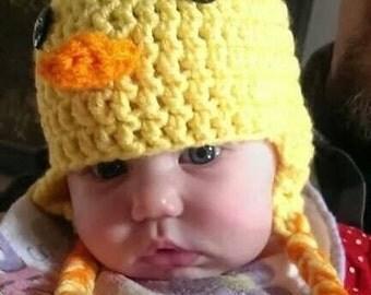 Crochet Duck Hat/ any size