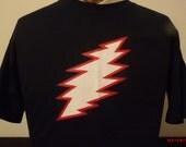 Grateful Dead 13 point Lightning Bolt T-shirt