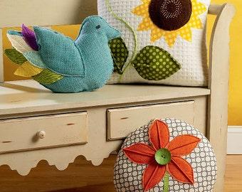 Kwik Sew Crafts pattern K4051 Decorative Pillows, Throw Pillows - new and uncut