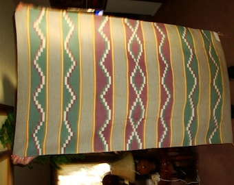 Authentic Navajo rug, vintage, by Fannie Begay, Crystal Design, 3ft. W x 5ft. L  REDUCED PRICE
