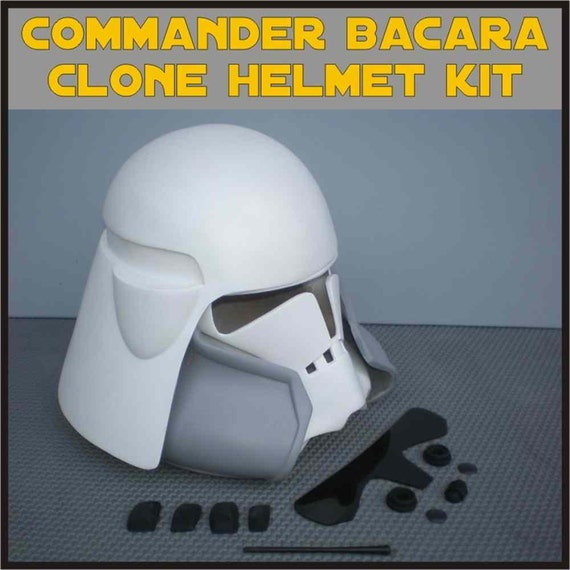 clone trooper commander bacara star wars by