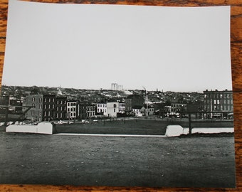 1880s Photograph of Brooklyn from Fort Greene Park