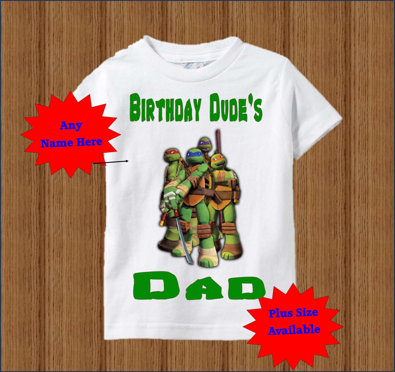 Ninja Turtles Dad Shirt