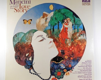 Mancini Plays The Theme From Love Story 1970 Vinyl LP