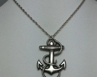 Sailing Anchor Necklace