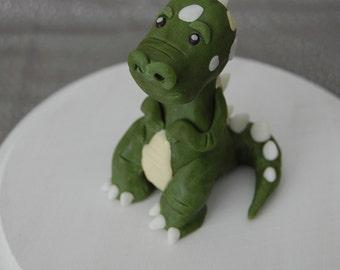Tiny T-Rex Dinosaur Fondant Figure