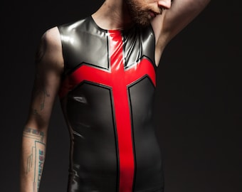 "Latex shorts ""Crux Pants"" by Maniac Latex"