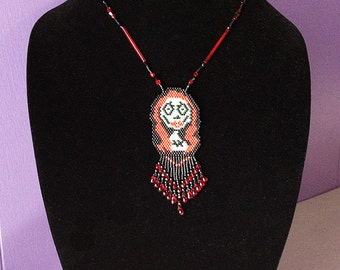 Sally Woven Beaded Necklace Nightmare Before Christmas