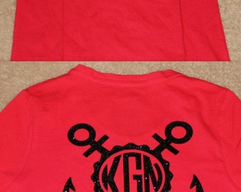 Glittler Monogram Achor Shirt