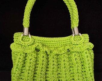 Lime green bag | Etsy