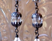 Antique Crystal Earrings -- All Proceeds to #FightEbola #MoreThanMe