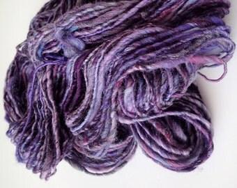 Handspun Merino Multi-Fiber Blend Yarn, 100 yds. (Free Shipping)