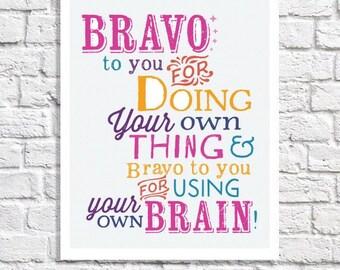 Positive Affirmation Tween Room Decor Little Girl Wall Art Encouragement Poster Classroom Quote Inspiring Message Uplifting Gift For Teen