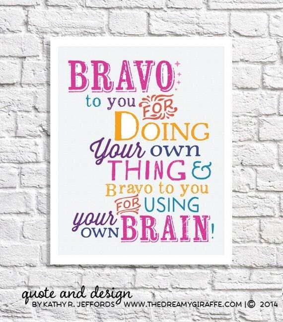 Positive Affirmation Tween Room Decor Little Girl Wall Art