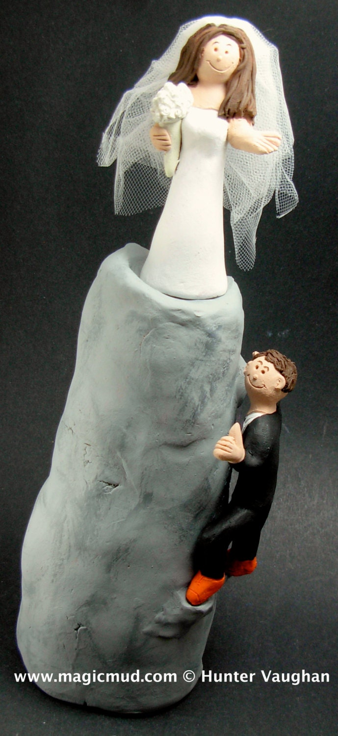 rock climbing wedding cake toppers mountain and rock climbers wedding cake topper mountaineering 19248