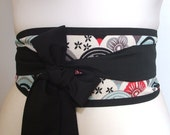 Japanese traditional pattern Obi belt by loobyloucrafts
