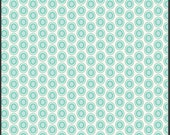 Oval Elements Mist - Light Blue & White - The Oval Elements Collection -  Art Gallery Fabrics - Premium Cotton Quilting Fabric - One Yard