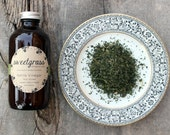 Nettle Vinegar - herbal infused raw unfiltered organic apple cider vinegar