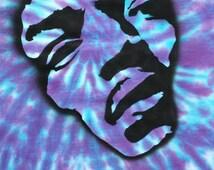 Jimi Hendrix Shirt Purple Haze Tie Dye size Large