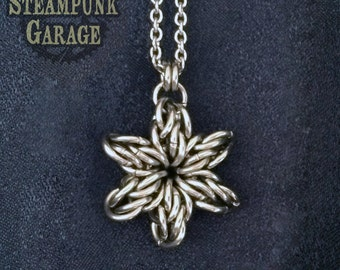 Original SMALL Stan Star Six - 6-Pointed Star Pendant - Stainless Steel