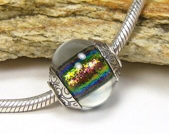 Lampwork Glass Charm Bead - Large Hole - BHB (No. 1)