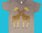 SALE KIDS Zoo Keeper Giraffes T-shirt Tee Shirt Nature Madagascar African Safari Khaki Explorer Adventure Children Toddler Youth Tshirt