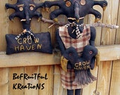 Crow Haven Black Dolls E Pattern
