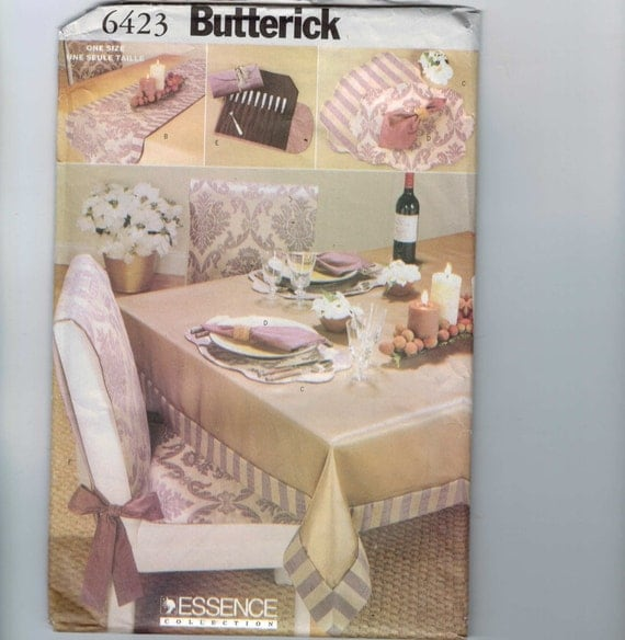 Home Decor Sewing Ideas: Home Decor Sewing Pattern Butterick 6423 By
