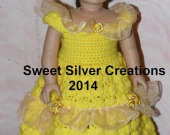18 inch American Girl Crochet Pattern - Belle