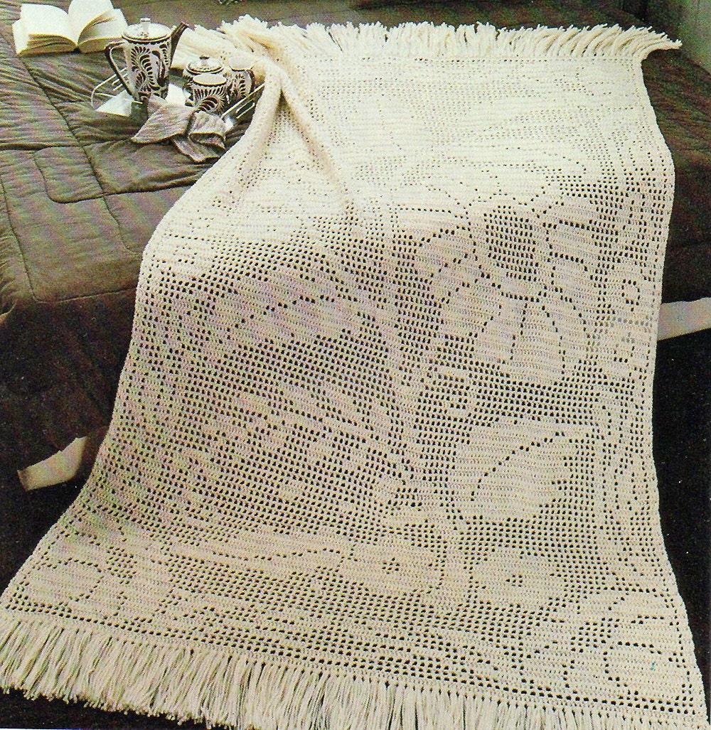 Free Crochet Patterns For Filet Afghan ~ Dancox for .
