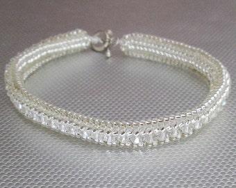 crystal beaded jewelry crystal beadwork bracelet
