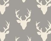 Hello Bear Buck Forest Mist, Bonnie Christine, Art Gallery, Premium Cotton 1 yard