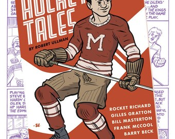 Old-Timey Hockey Tales #2 by Robert Ullman