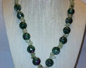 Ocean Jasper & Ruby Necklace