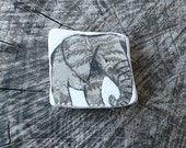 Grey Beach Pottery Elephant - Healing, Totem. Animal Medicine, Spirit Animal,