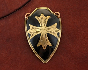 mens cross necklaces, field of faith, cross and shield, curved pendant, mykonos pendant, budded cross, statement cross, maltese cross