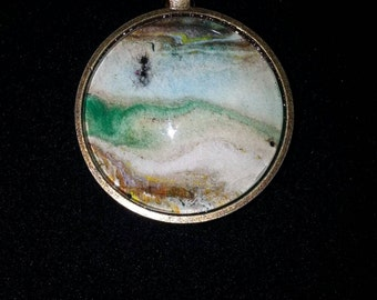 One-of-a-Kind Wearable Art Pendant Necklace