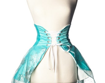 Ice Queen Inspired Cincher Skirt