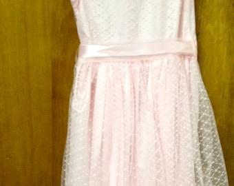 Pink Lace Play Dress