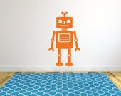 Large robot wall decal DB368